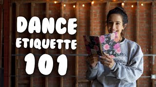 Dance Etiquette 101 I Manners For Dancers With @MissAuti
