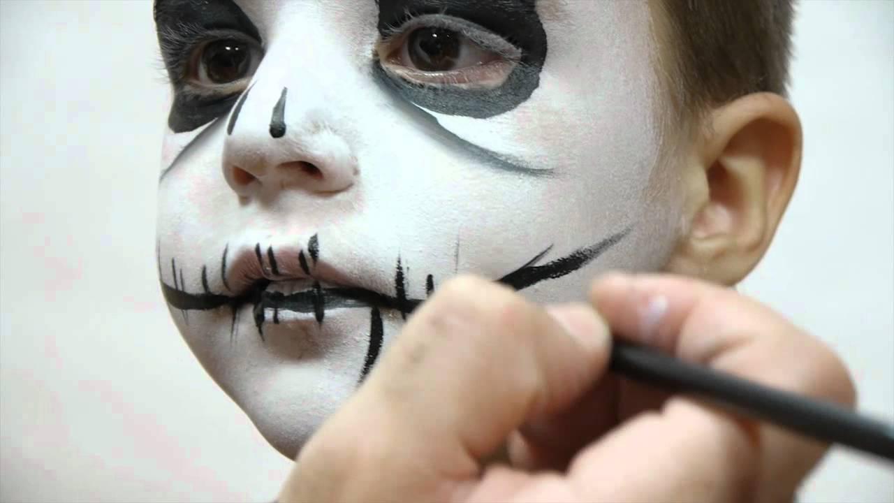 Maquillaje de fantasia, propuestas Halloween 2012 TEN IMAGE. Paso a paso Esqueleto , YouTube