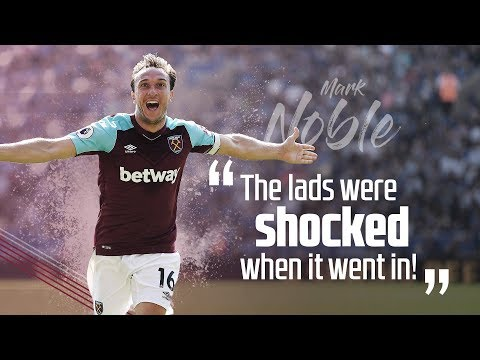 NOBLE: THE LADS WERE SHOCKED WHEN IT WENT IN!