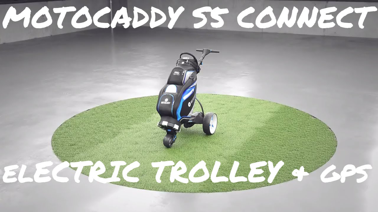 Motocaddy Motocaddy S5 Connect electric trolley review | Golf