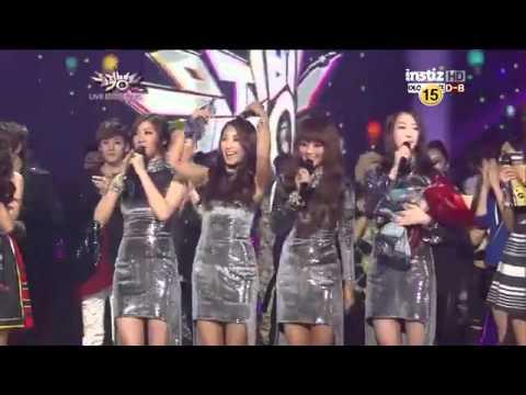 KBS Music Bank   May 4, 2012 Sistar   Winner