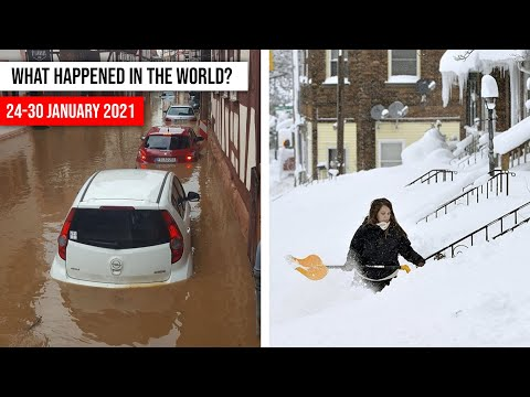 NATURAL DISASTERS this week from 24 - 30 January2021 Climate changе! disasters 2021 flood