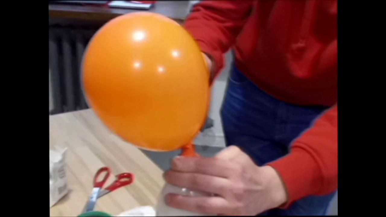Как сделать гелевый шарик из шарика 945