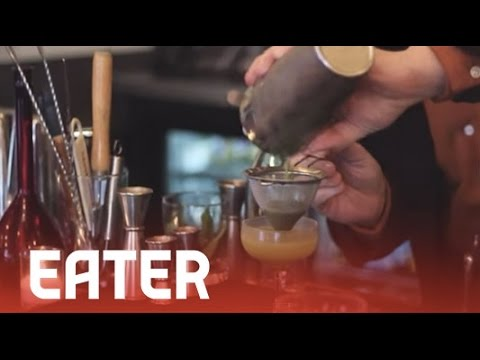Thai Basil Daiquiri - Dave Arnold's Cocktail University - YouTube
