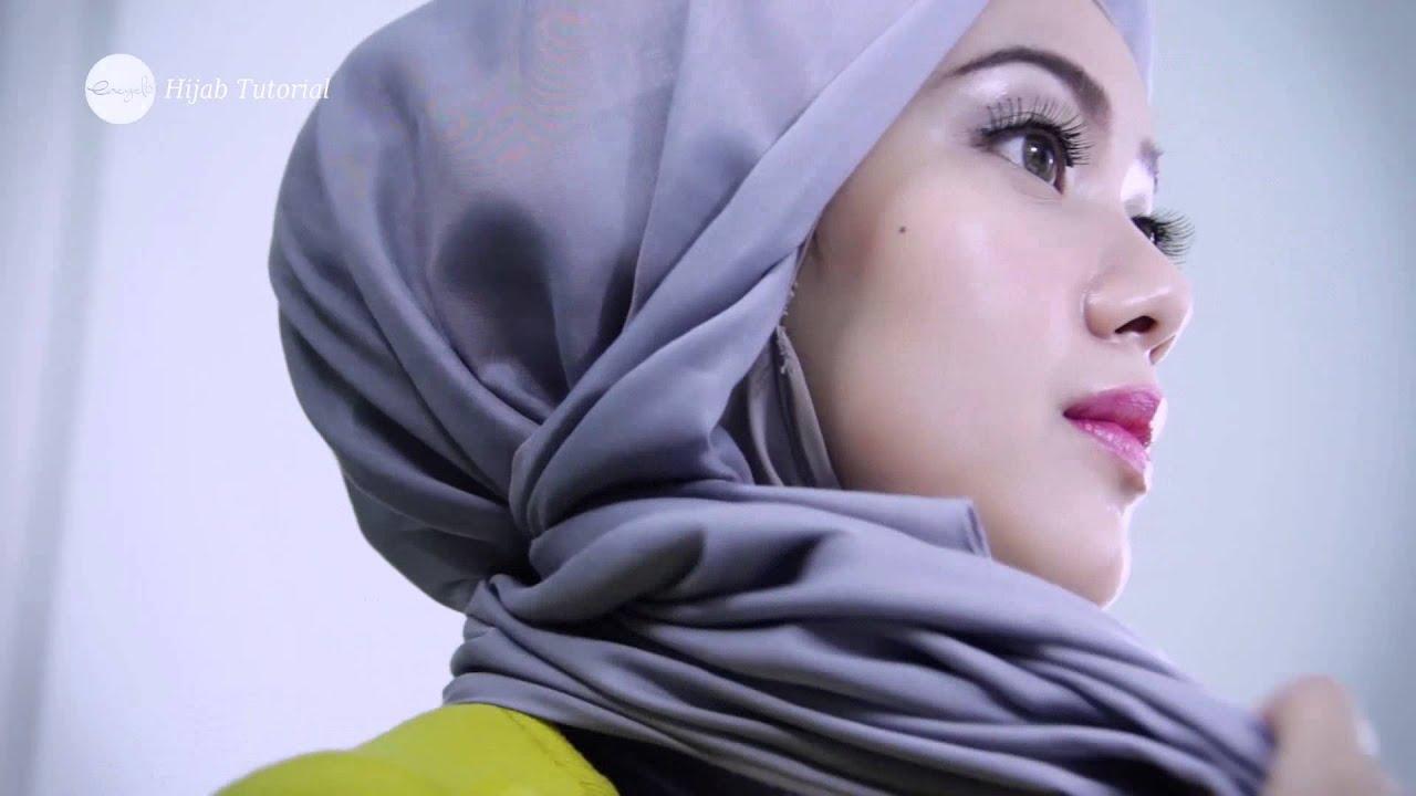 Encyclo Hijab Tutorial Estrella Style Daily Look YouTube