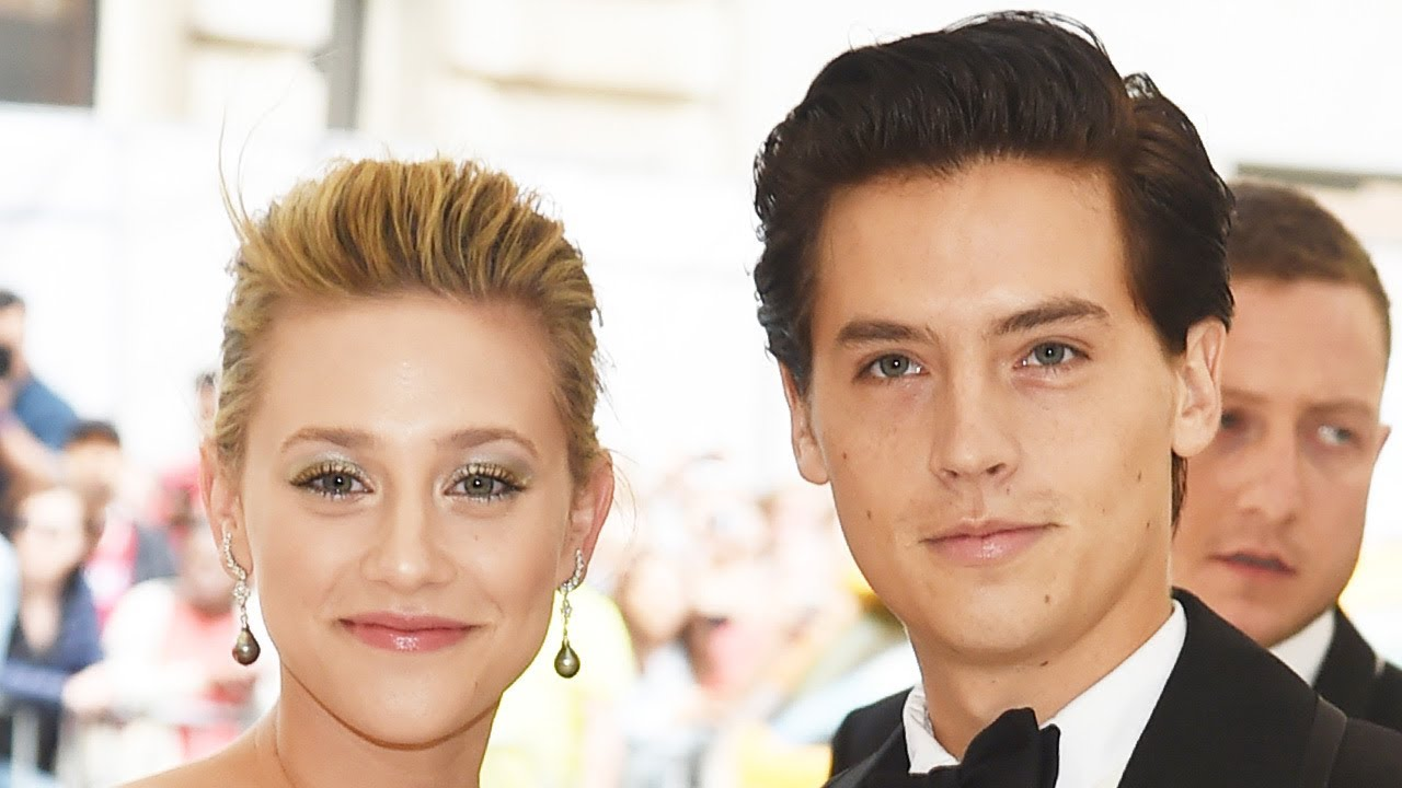 Cole Sprouse wishes Lili Reinhart happy birthday with kissing pictures