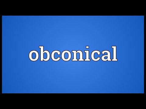 Header of obconical