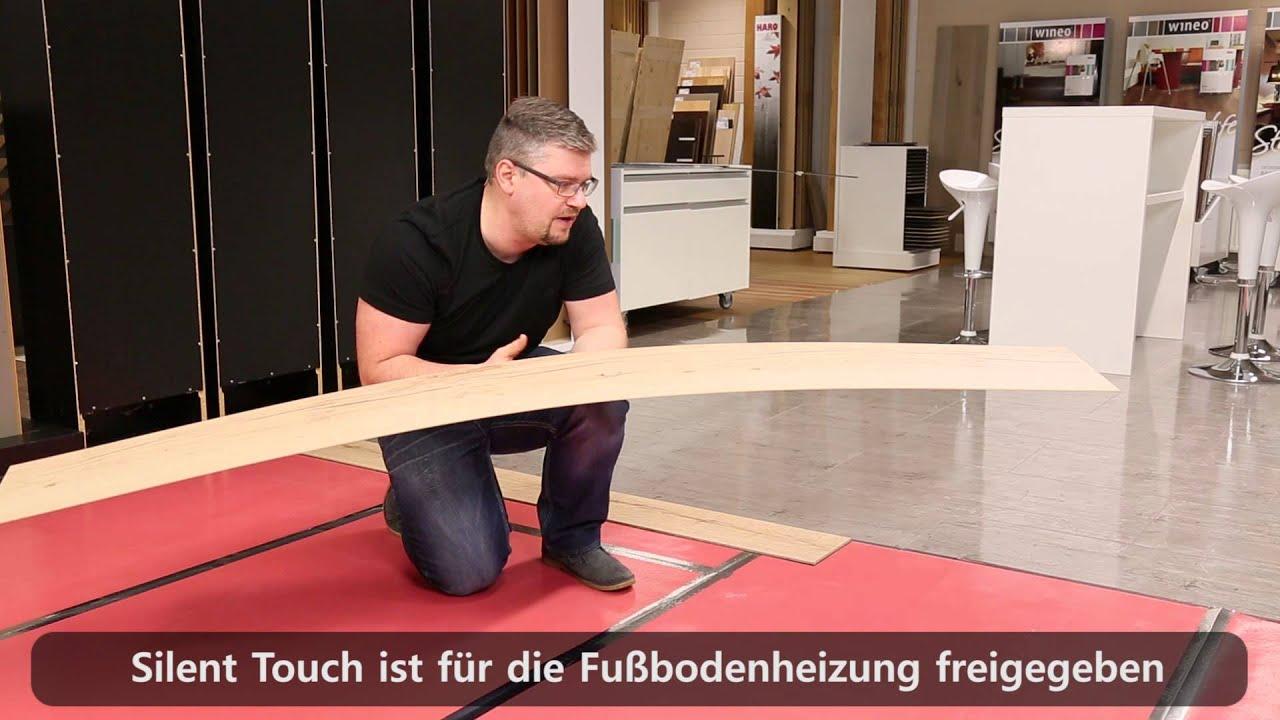 meisterwerke schulte r ume designboden silent touch 5mm fussboden youtube. Black Bedroom Furniture Sets. Home Design Ideas