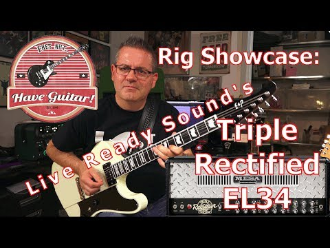 Kemper Rig Showcase: Live Ready Sounds Triple Rectified EL34