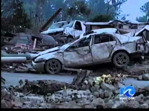 Ports. man escapes deadly tornado - 11 p.m.