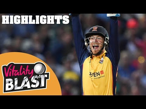 Worcestershire v Essex | FINAL - Highlights | Vitality Blast