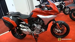 2016 MV Agusta Turismo Veloce 800 Lusso - Walkarond - 2016 Montreal Motorcycle Show