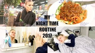 MY NIGHT TIME ROUTINE 2017