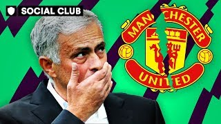 ARE MOURINHO AND MAN UTD CRACKING UP? | SOCIAL CLUB