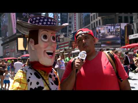 Ebro in the Morning present The Tallest Mexican- Times Sq Characters Q&A