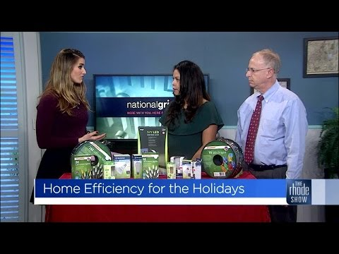 Energy efficiency for the holidays