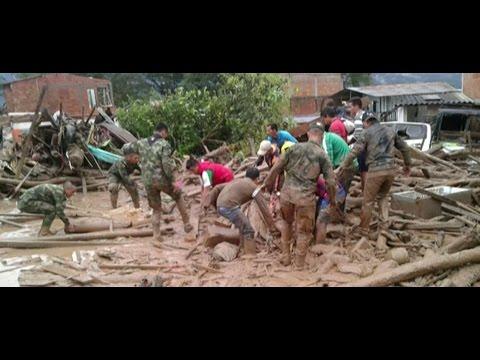 Colombia tragedy: Mudslide kills 150