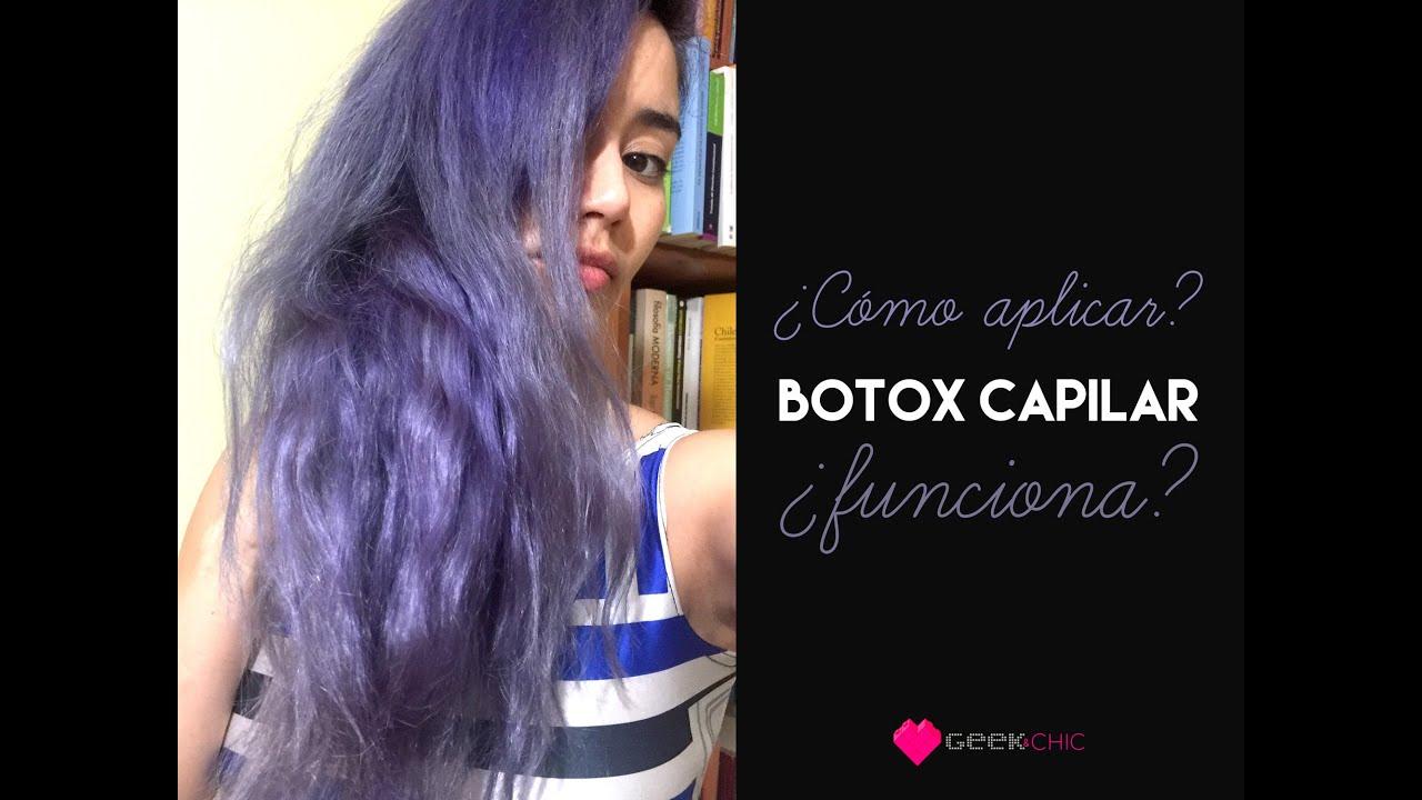 Anven botox capilar como aplicar