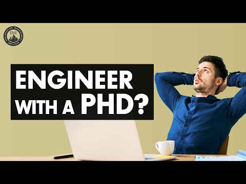 Getting A PhD As An Engineer Or Not? - Engineering Career TV Ep. 10