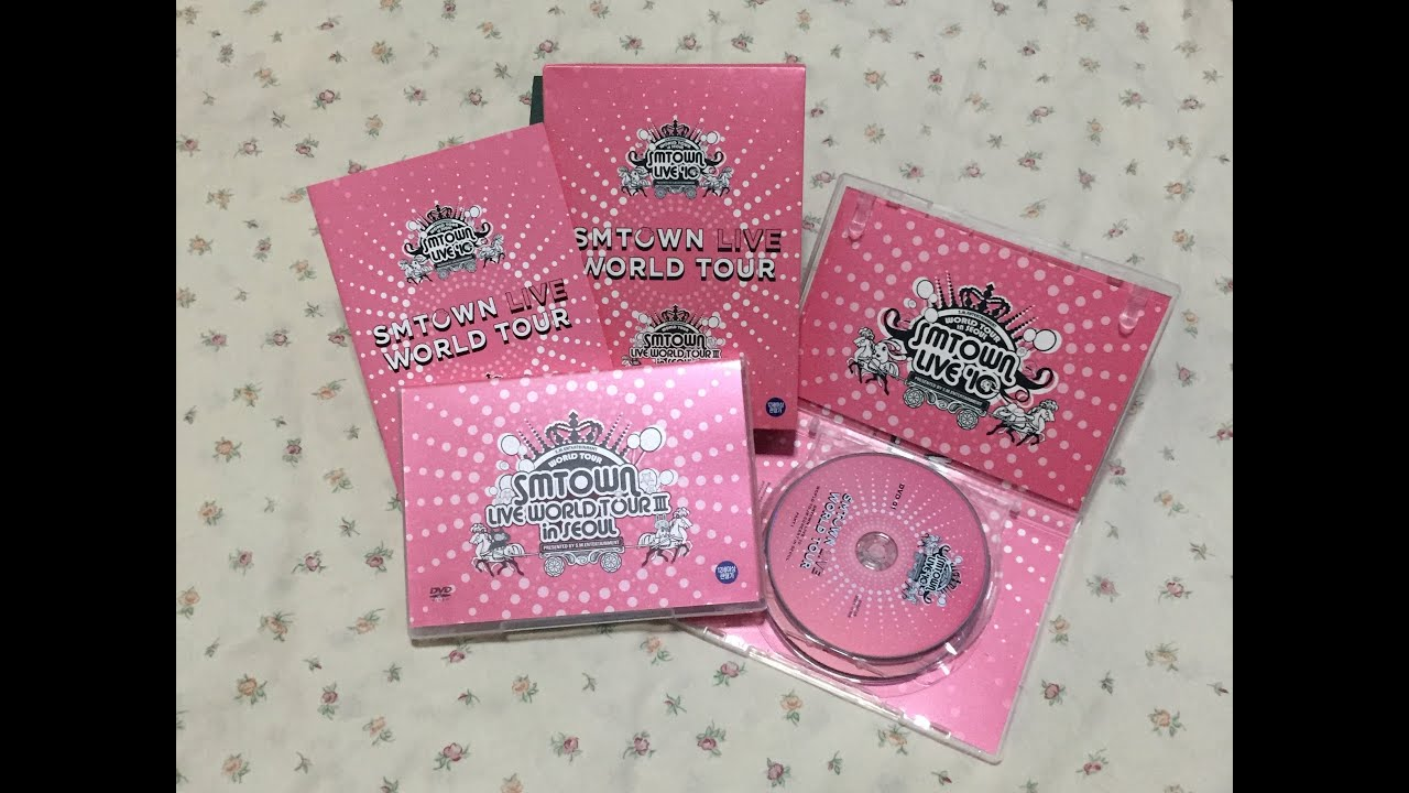[UNBOXING] SMTOWN LIVE WORLD TOUR III in SEOUL DVD