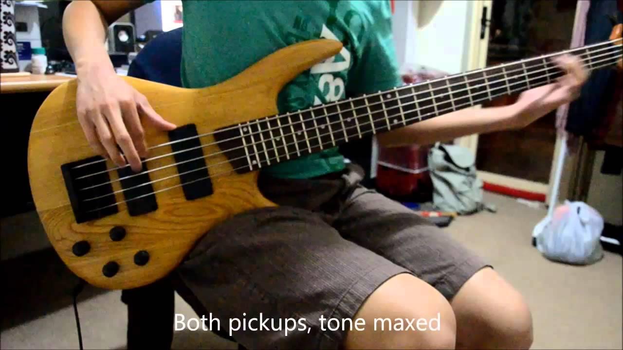 diy kit 5 string bass demo part 1 of 2 youtube. Black Bedroom Furniture Sets. Home Design Ideas