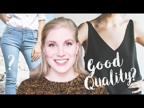 What are Good Quality Clothes?