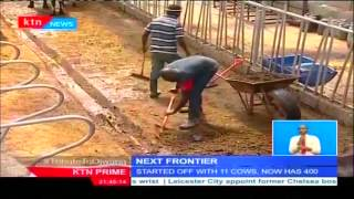 The Frontier: Dairy business that started with 11 cows now thriving dairy farm