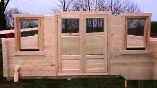 Дома Позитив Летние домики из мини-бруса (Кедр)(Компания