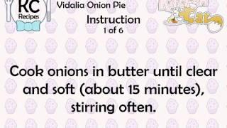 Vidalia Onion Pie - Kitchen Cat