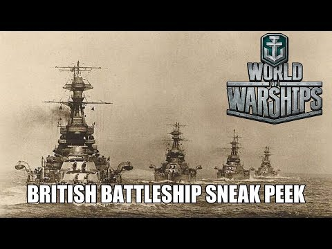 World of Warships - British Battleship Sneak Peek