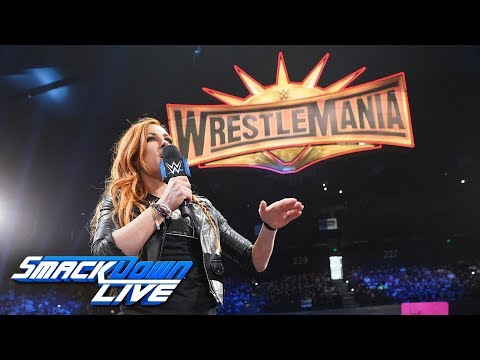 Becky Lynch recalls her Road to WrestleMania: SmackDown LIVE, April 2, 2019
