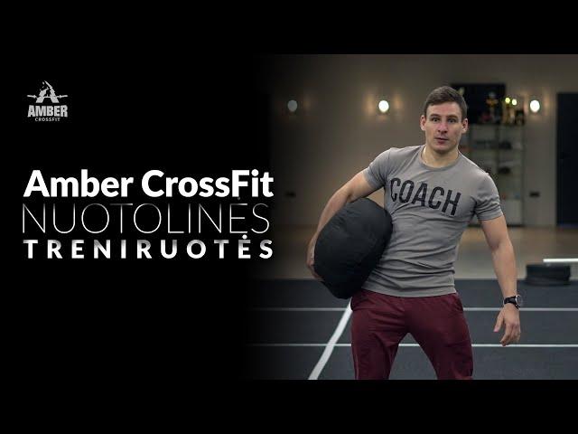 Amber CrossFit nuotolinė treniruotė nr 57
