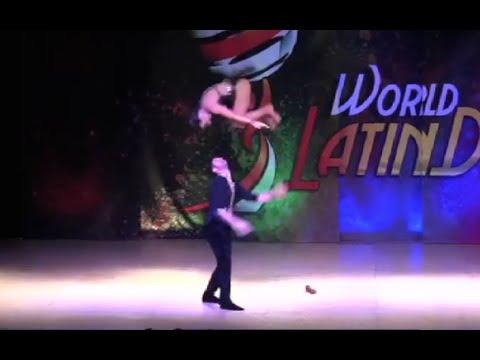 Elektra & Thodoris Salsa Cabaret finals World Latin Dance Cup 2015