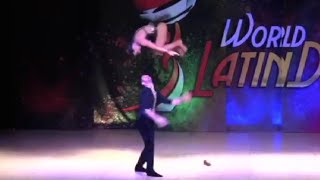 Elektra & Thodoris Salsa Cabaret finals World Latin Dance Cup 2015
