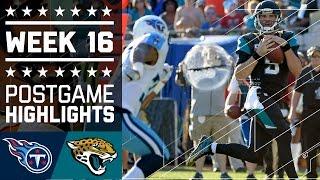 Titans vs. Jaguars | NFL Week 16 Game Highlights