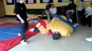 Jamie Fogarty v David Curley Sumo Wrestling