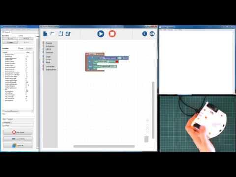Thymio Scratch Machine using Functional Statements