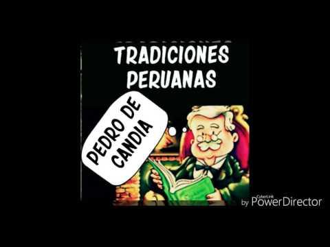 Ricardo Palma -  Pedro de Candia - Audio Libro