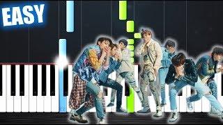 Baixar BTS (방탄소년단) 'FAKE LOVE' - EASY Piano Tutorial by PlutaX