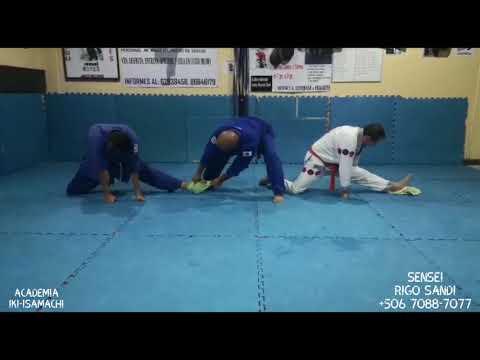 Estiramientos - jiu jitsu