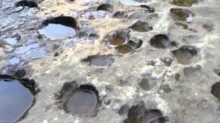 Pothole river erosion