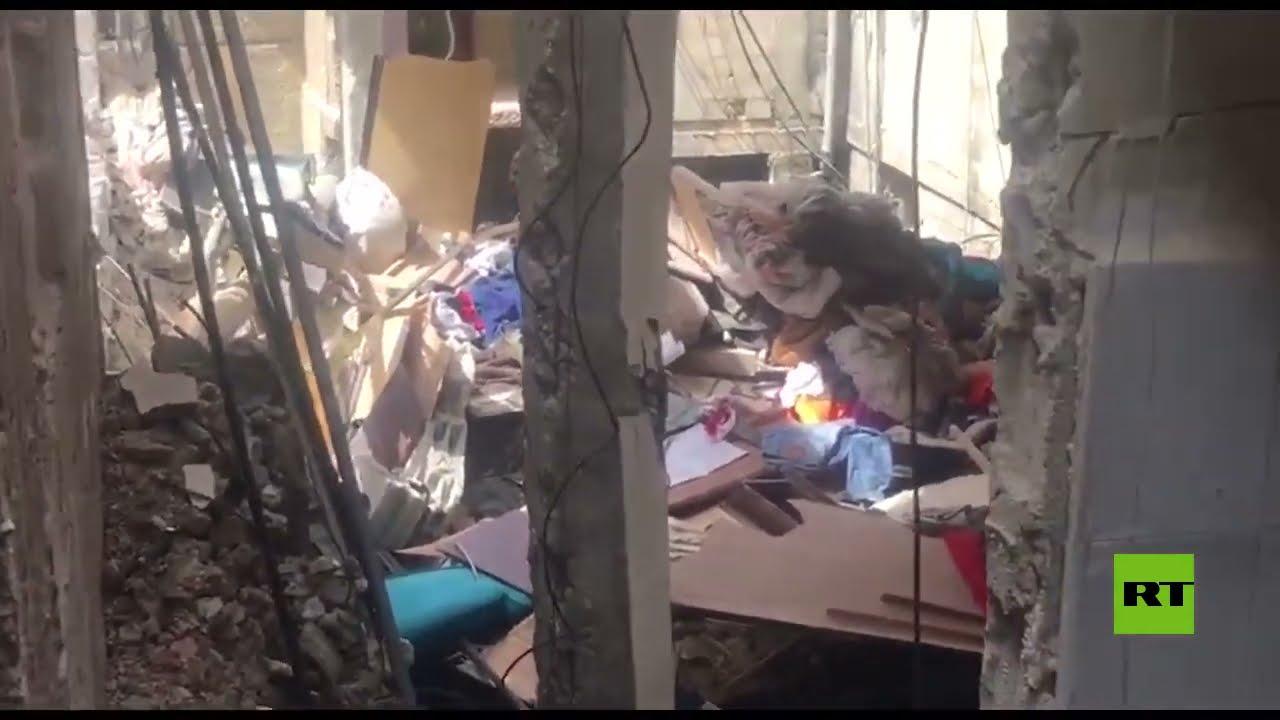 انفجار المزة بدمشق .. وفاة طفلة وعدة بيوت مهددة بانهيار  - نشر قبل 2 ساعة