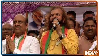 BJP candidate Hans Raj Hans Hans campaigns in Delhi, Arjun Chautala in Kurukshetra