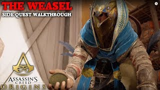 Assassin's Creed Origin's - The Weasel - Side Quest Walkthrough