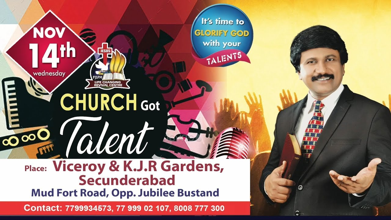 Church Talent Day on Nov 14th,2018  @Life Changing Revival Centre |Secunderabad|