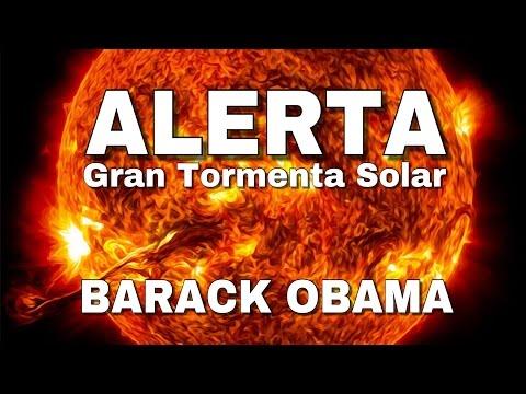 """#EnVivo I ALERTA Barack Obama sobre una """"Gran Tormenta Solar""""; en 120 días tendrán plan estratégico."""