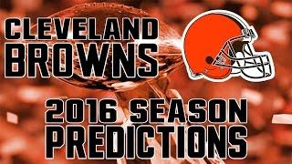 Cleveland Browns 2016 Season Predictions
