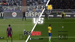FIFA 16 Vs PES 2016 - Penalty Kicks