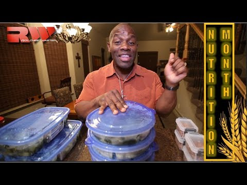 How to Food Prep for 5 days | Meal Planning |  Bodybuilding Nutrition Month (Build Muscle Fast)