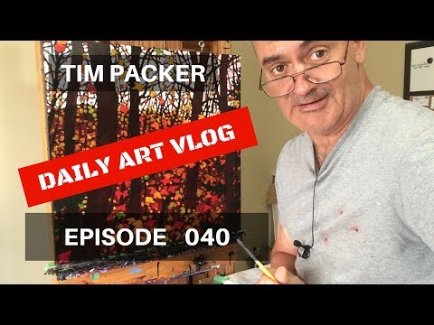 Painting the Sky - Daily Art Vlog - Episode 040
